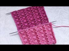 Long Loop Stitch Knitting Pattern Knitting Stitches, Knitting Patterns Free, Free Knitting, Crochet Patterns, Knit Crochet, Youtube, Tejidos, Knitting Patterns, Crochet Pattern