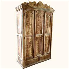 Schrank Aus Mangoholz, B 90 Cm, Weiß Antik Taj | Homesweethome | Pinterest  | Armoires, Woods And Furniture Ideas