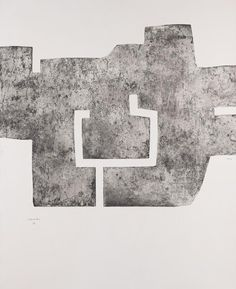 Eduardo Chillida - Euzkadi IV Etching Signed and numbered 30/50. With title on verso.  On wove paper by Arches.  88 x 115,3 cm (34,6 x 45,3 in) Sheet: 160,4 x 115,3 cm (63,1 x 45,3 in).