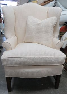 Hey, I found this really awesome Etsy listing at https://www.etsy.com/listing/222881092/stately-and-tall-baker-wing-back-chair