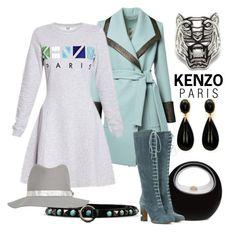 """Sweatshirt Dress"" by hastypudding ❤ liked on Polyvore featuring Kenzo, Etro, Valentino, rag & bone, fashionset, sweatshirtdress and AmiciMei"
