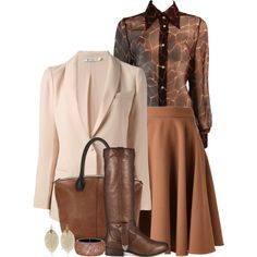 EARLY FALL - outfit examples, created by nefertiti1373 on Polyvore