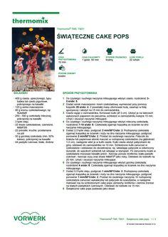 Swiateczne cake pops