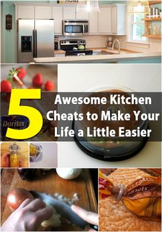 5 Awesome Kitchen Cheats to Make Your Life a Little Easier