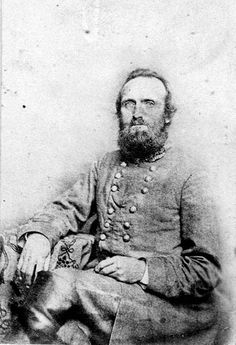 Original photographs from the Civil War.  General Thomas 'Stonewall' Jackson. General Jackson's wife, Mary Anna, stated that she felt this photograph was the best likeness to her husband that was ever captured on film.