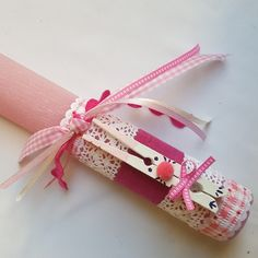 Handmade Easter Candle / Lambada Orthodox Easter, Diy And Crafts, Crafts For Kids, Greek Easter, Candle Craft, Palm Sunday, Diy Candles, Easter Crafts, Holidays And Events