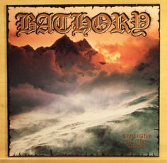 BATHORY - Twilight of the Gods - Vinyl LP - Mega Rare Black Metal LP