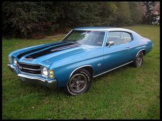 1971 Chevrolet Chevelle SS 2-Door Hardtop  454/365 HP, Automatic - MY DREAM CAR. The one my daddy had before me! I will buy it back for him someday. :)