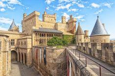 El palacio real de #Olite, el capricho de lujo de Navarra #Navarra (Vía @escapadarural / Twitter)