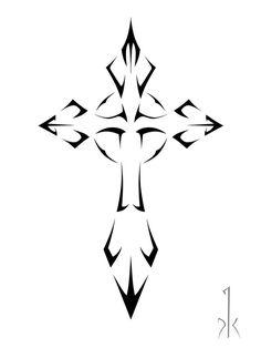 Cross Tattoo Designs For Women   Cross Tattoo Designs 13 Tribal 14 - Free Download Tattoo #2078 Cross ...