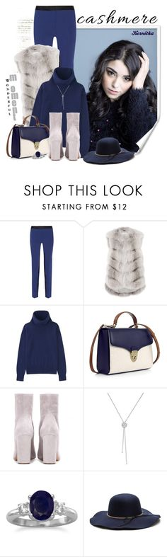 """""""nr 431 / Cozy Cashmere Sweaters"""" by kornitka ❤ liked on Polyvore featuring Prabal Gurung, Manzoni 24, Uniqlo, Aspinal of London, Chloé, Piaget, BillyTheTree and cashmere"""