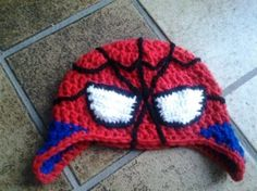 spiderman muts haken
