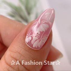 Nail Art ✰A Fashion Star✰ Nail Art nail art with stars Star Nail Designs, Cool Nail Designs, Acrylic Nail Designs, Nail Art Hacks, Gel Nail Art, Nail Art Diy, Nail Nail, Star Nail Art, Star Nails