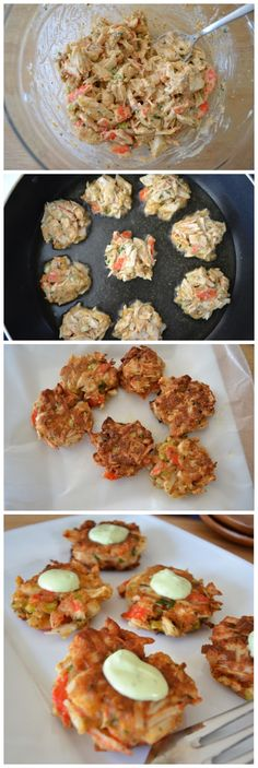 Latest Food: Gluten Free Crab Cakes -  Incredibly easy, delicious, & packed with nutrients!!!