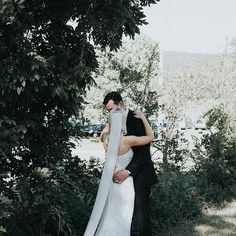 THESE MOMENTS // We can't wait to show you more Bridie + Matt's stunning wedding.  @jasoncorroto • Florist – @ericaandersonflorals • Gown - 'Anya' @kwhbridal
