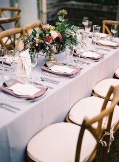 Lavendar wedding decor