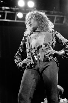 Terry O'Neill, 'Robert Plant Led Zeppelin on stage,' ca. 1970, Ransom