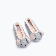 BUNNY RABBIT SLIPPERS-Shoes-Girl | 4-14 years-KIDS | ZARA United States