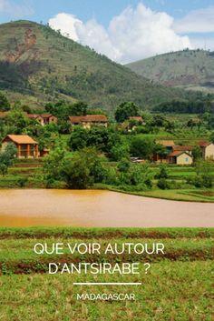 Excursions à réaliser dans les environs d'Antsirabé : lac d'Andraikiba, lac de Tritriva et randonnée dans les rizières de Betafo jusqu'à la cascade Antafofo - Madagascar