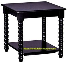 Black End Tables, Small End Tables, End Tables With Drawers, End Tables With Storage, Painted End Tables, Wood End Tables, Wood Table, Solid Pine, Solid Wood