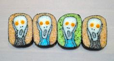 Amazing Sushi 'Paintings' Make Latte Art Obsolete  Foodbeast