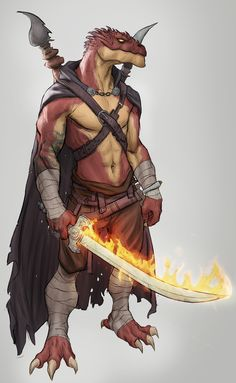 m Dragonborn Monk Cloak Magic Sword Staff lwlvl Fantasy Character Design, Character Concept, Character Inspiration, Character Art, Dungeons And Dragons Characters, D D Characters, Fantasy Characters, Fantasy Races, Fantasy Rpg