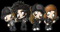 Tokio Hotel Chibi!