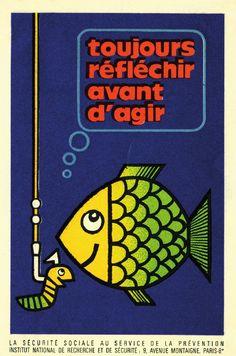 affiche de prévention au travail - Bernard Chadebec