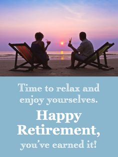 Send Free Relax By the Ocean - Happy Retirement Card to Loved Ones on Birthday & Greeting Cards by Davia. It's free, and you also can use your own customized birthday calendar and birthday reminders. Birthday Greeting Cards, Birthday Greetings, Happy Retirement Cards, Birthday Reminder, Birthday Calendar, First Love, Dr Daniel, Relax, The Incredibles