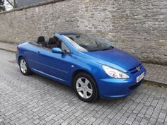 Peugeot 307 CC 2.0 convertible FSH only 68000 miles 2004 ( 206 )