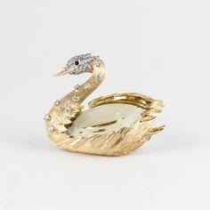 E. Wolfe Swan Pin