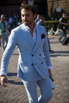 Pitti Uomo, Street Style, menswear #MensStyle #MensFashion