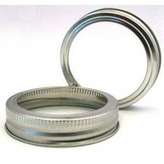 Mason Jar Screw Bands  Standard  pack of 12 -- Check out @