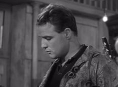 "Marlon Brando in ""The Fugitive Kind"""