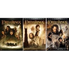 Lord Of The Rings Trilogy We have watched this every New Years eve since they first came out. Have gone thru two sets of dvds.