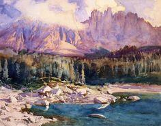 John Singer Sargent, Karer See, 1914
