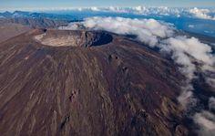 Piton de la Fournaise volcano, Indian Ocean