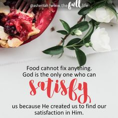 Can the Bible help me with my food struggles? Join Asheritah Ciuciu as she shares honestly about her own battles with food and reveals the path to freedom.