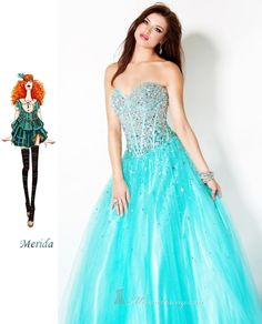 Modern Day Disney Princesses Part 2: Prom Edition | Dressed Up