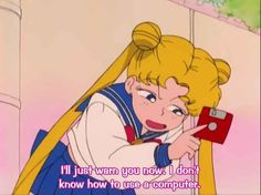 "17 Times ""Sailor Moon"" Totally Got You Sailor Moons, Sailor Moon Manga, Sailor Moon Quotes, Sailor Moon Funny, Sailor Moon Aesthetic, Aesthetic Anime, Sailor Moon Screencaps, Haruhi Suzumiya, Your Spirit Animal"