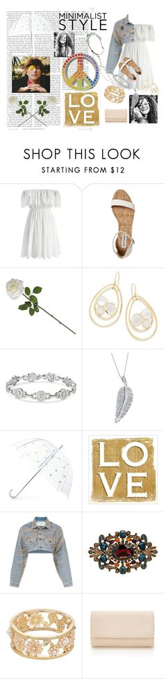 """""""Boho (Hippie) #3"""" by juliaarmstrong13 ❤ liked on Polyvore featuring Chicwish, Janis, Ippolita, Jennifer Meyer Jewelry, Kate Spade, Off-White and Heidi Daus"""