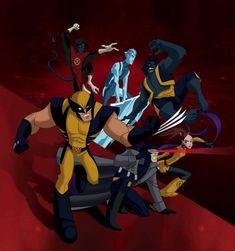 Beast Wallpaper, Man Wallpaper, Marvel Cartoons, Marvel Comics, X Men Evolution, Man Beast, Wolverine, Cyclops, Men Tv