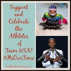Celebrate The Athletes Of Team USA! #ItsOurTime @Alex thomas $200 GC #Giveaway #Sochi2014 #Ad