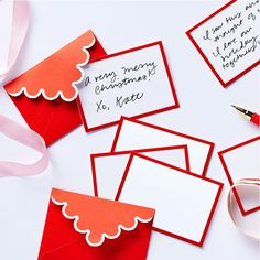 Red envelope with decorative edge Letterhead Design, Stationery Design, Wedding Stationery, Web Design, Print Design, Greeting Card Companies, Paper Crafts Origami, Invitation Card Design, Invitations