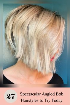 Click the link to see our collection of photos of some of the cutest and best angled bobs for your next haircut inspiration! Photo credit: Instagram @styled_by_carolynn #angledbobs #angledbobhaircut Angled Bob Hairstyles, Latest Hairstyles, Angled Bobs, Short Hair Cuts, Instagram Fashion, Hair Trends, Photo Credit, Angles, Therapy