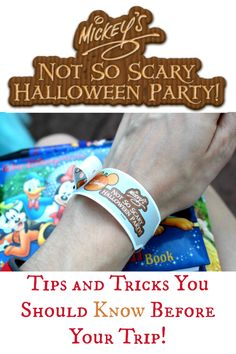 Great tips for Mickey's Not So Scary Halloween party!