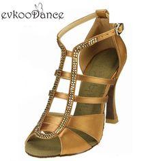 5a234fd83 (Promotion price $39.93) New Style Zapatos De Baile Comfortable Satin Latin Dance  Shoes Women