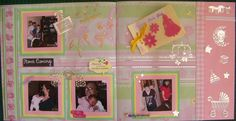 Scrapbooking: Adding a mini album to a page layout Scrapbook Blog, Scrapbooking, Page Layout, Mini Albums, Arts And Crafts, Ads, Pretty, Artist, Artists
