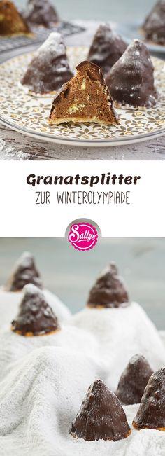 Passend zur Winterolympiade gibt es leckere Granatsplitter!