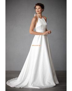 Salle intérieure Balayage / pinceau train Eté Robes de mariée Designer